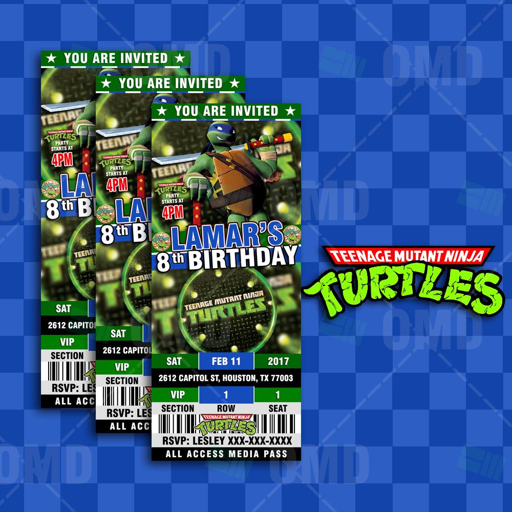 Teenage Mutant Ninja Turtles Ultimate Party Package